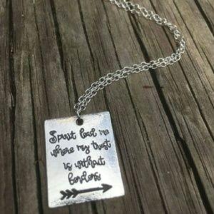 Christian necklace hillsong oceans